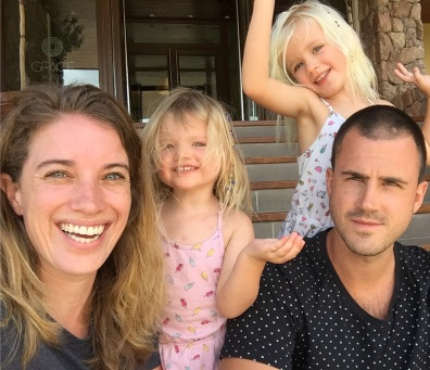 The Flying Dutch Family - Thaddeus, Annnette, Jools & PIppa