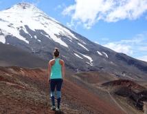 Annette op de Osorno Vulkaan - MOMspiraiton & Kari Traa