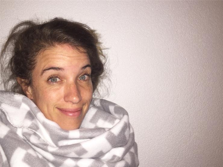 Annette MOMspiration slaaphoofd kind in haar bed