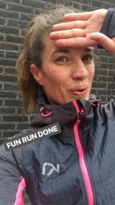 hardlopen - halve marathon van egmond - voorbereiding Annette