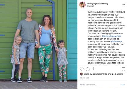 The Flying Dutch Family Instagram