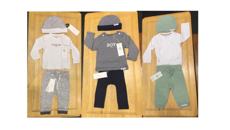 MOMspiration eerste outfit baby Noppies