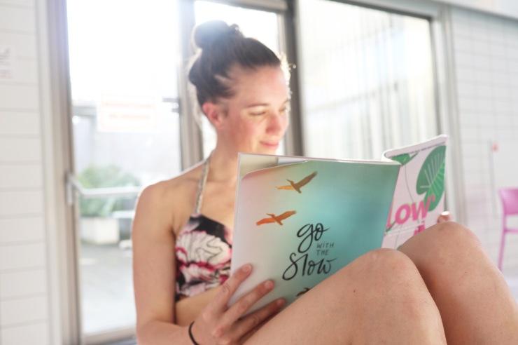 Annette de Graaf Flow magazine MOMspiration SKWA zwembad