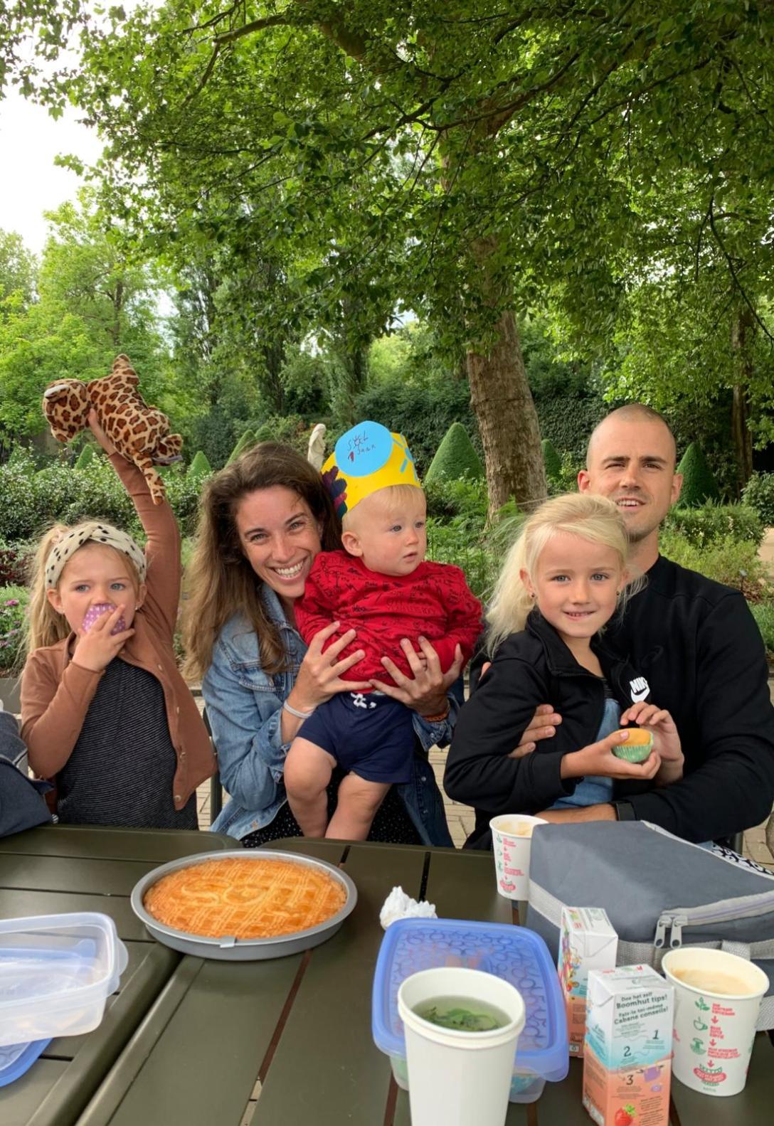 The Flying Dutch Family Sol 1 jaar - eerste verjaardag Artis